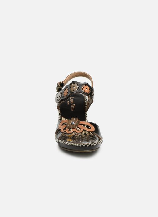 Sandales et nu-pieds Laura Vita Becigneto 33 Noir vue portées chaussures