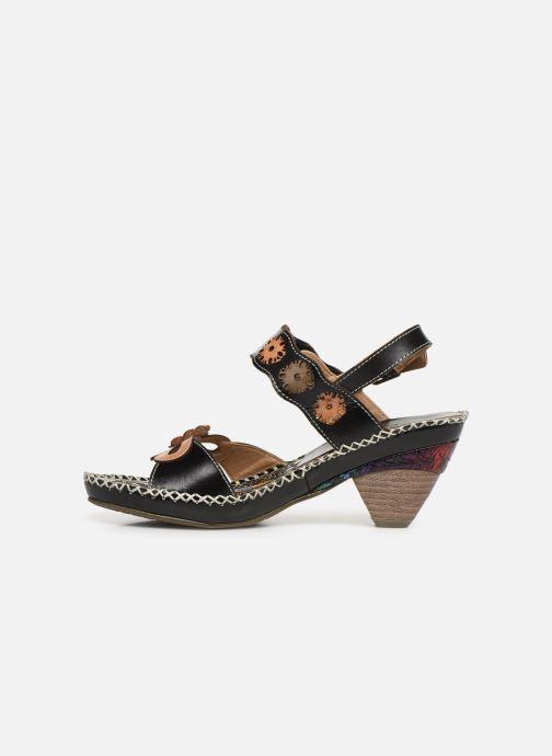 Sandales et nu-pieds Laura Vita Becigneto 33 Noir vue face