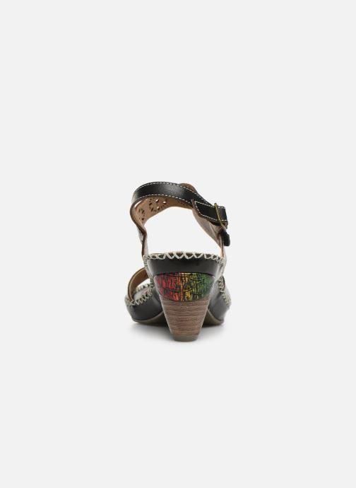 Sandales et nu-pieds Laura Vita Becigneto 33 Noir vue droite