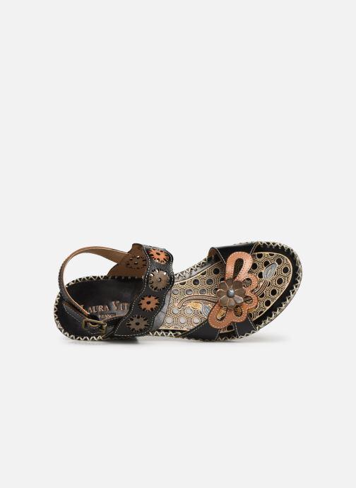 Sandales et nu-pieds Laura Vita Becigneto 33 Noir vue gauche