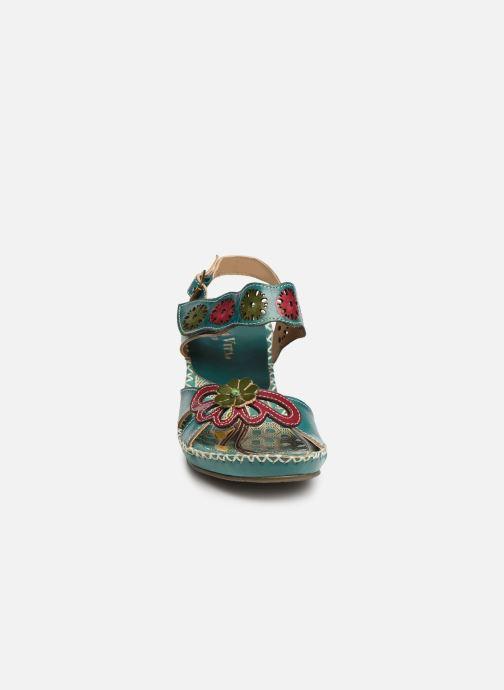 Sandali e scarpe aperte Laura Vita Becigneto 33 Azzurro modello indossato
