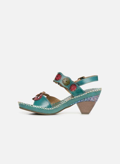 Sandales et nu-pieds Laura Vita Becigneto 33 Bleu vue face