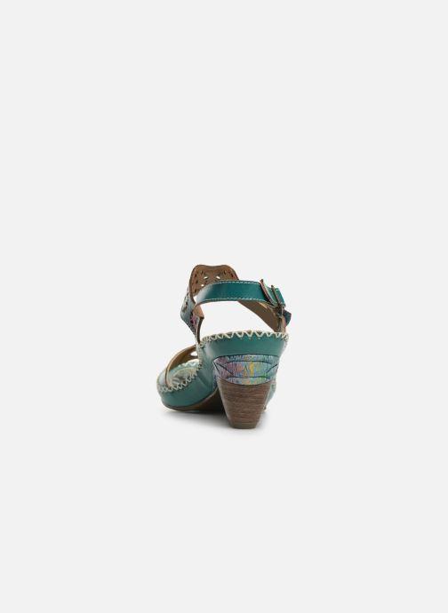Sandales et nu-pieds Laura Vita Becigneto 33 Bleu vue droite