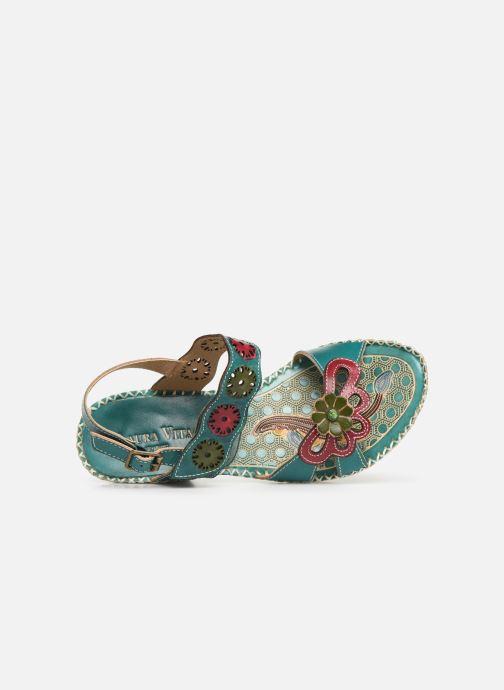 Sandales et nu-pieds Laura Vita Becigneto 33 Bleu vue gauche
