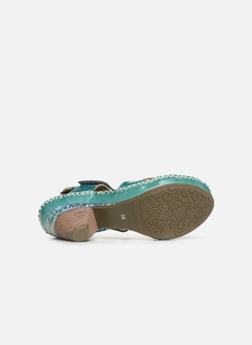 Sandales et nu-pieds Laura Vita Becigneto 33 Bleu vue haut