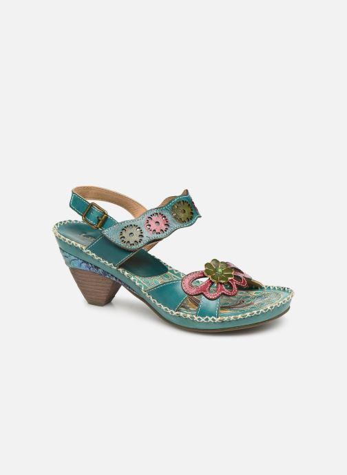 Sandales et nu-pieds Laura Vita Becigneto 33 Bleu vue détail/paire