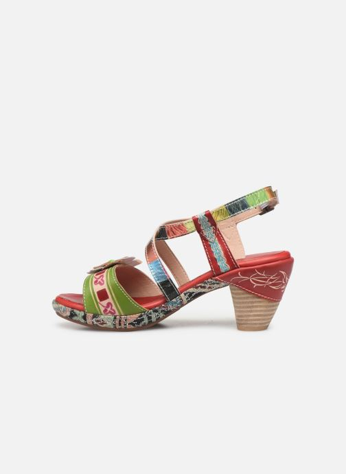 Sandales et nu-pieds Laura Vita Beclforto 01 Rouge vue face