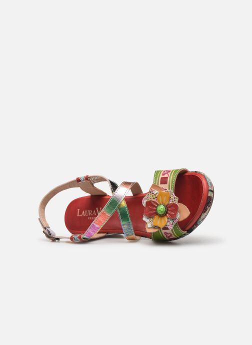Sandales et nu-pieds Laura Vita Beclforto 01 Rouge vue gauche