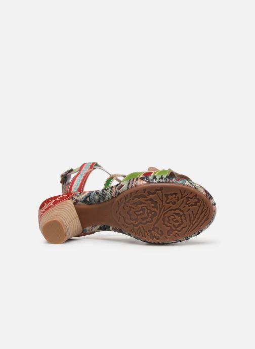 Sandales et nu-pieds Laura Vita Beclforto 01 Rouge vue haut