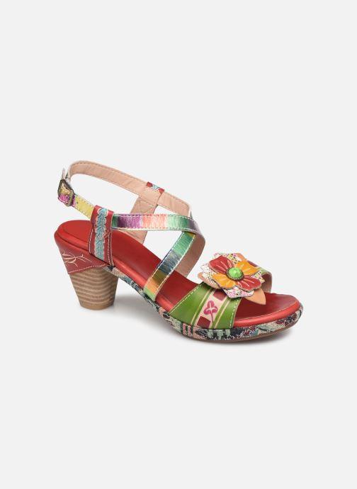Sandales et nu-pieds Laura Vita Beclforto 01 Rouge vue détail/paire