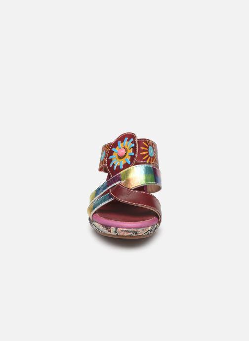 Mules et sabots Laura Vita Beclforto 06 Rose vue portées chaussures