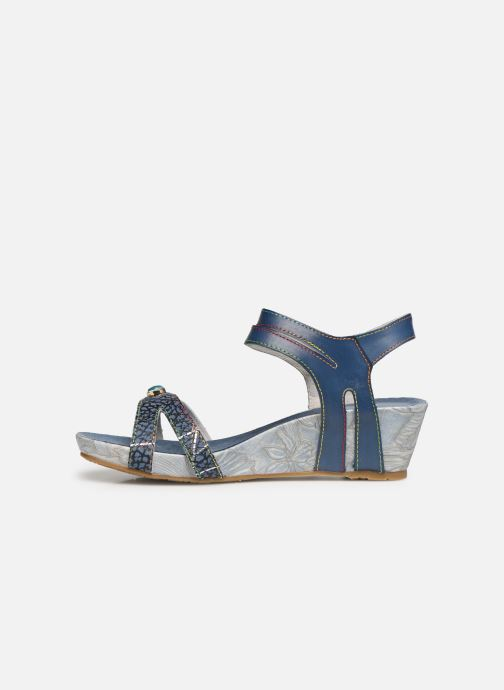 Sandali e scarpe aperte Laura Vita Beclindao 0291 Azzurro immagine frontale