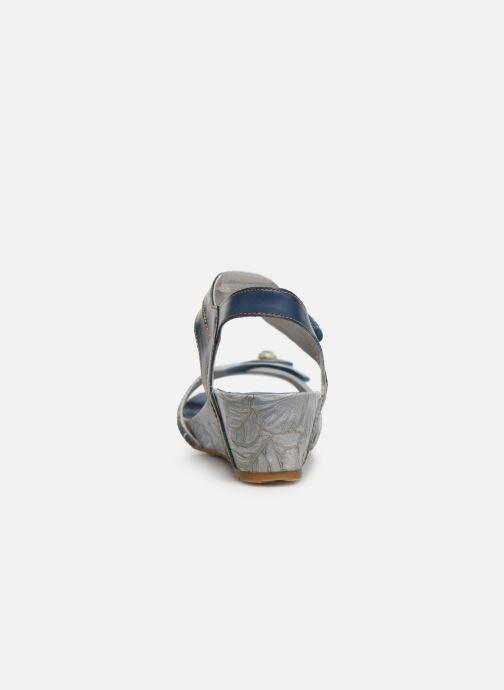 Sandales et nu-pieds Laura Vita Beclindao 0291 Bleu vue droite