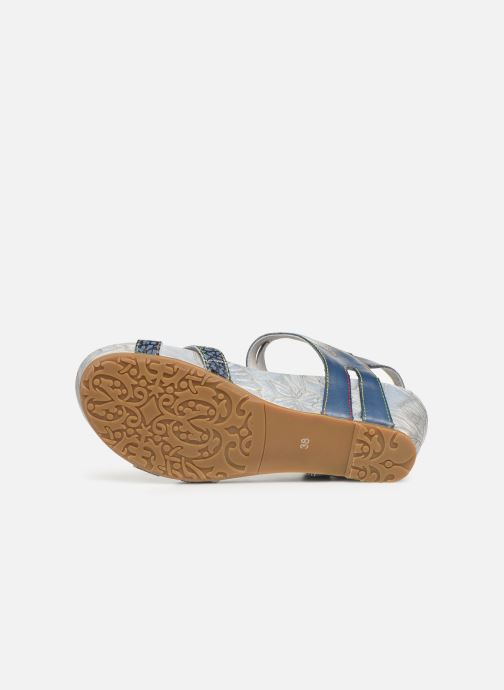 Sandali e scarpe aperte Laura Vita Beclindao 0291 Azzurro immagine dall'alto