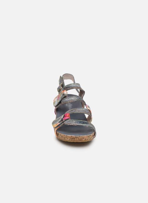 Sandales et nu-pieds Laura Vita Beclindao 209 Gris vue portées chaussures