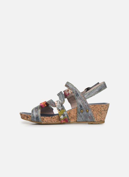 Sandales et nu-pieds Laura Vita Beclindao 209 Gris vue face