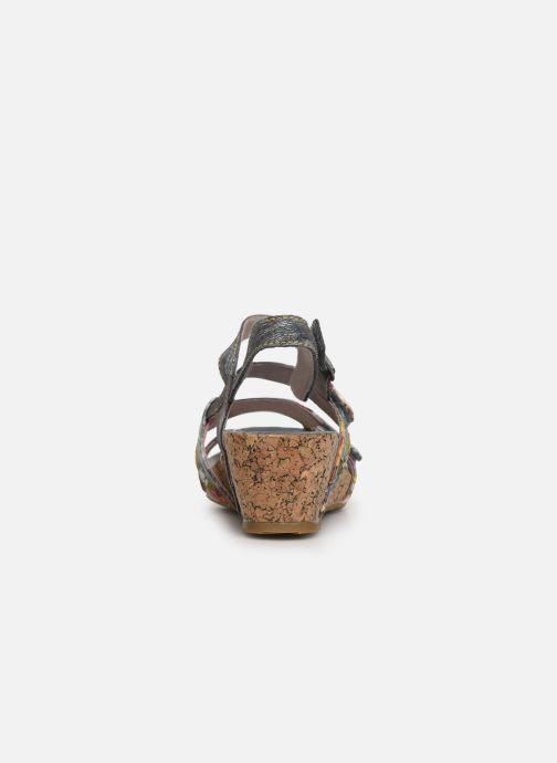 Sandales et nu-pieds Laura Vita Beclindao 209 Gris vue droite
