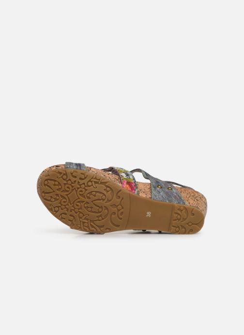 Sandales et nu-pieds Laura Vita Beclindao 209 Gris vue haut