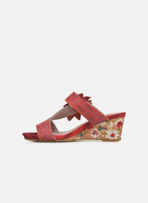 Mules & clogs Laura Vita Becnoito 21 Red front view