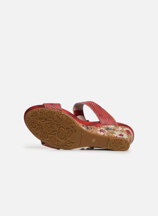 Mules & clogs Laura Vita Becnoito 21 Red view from above