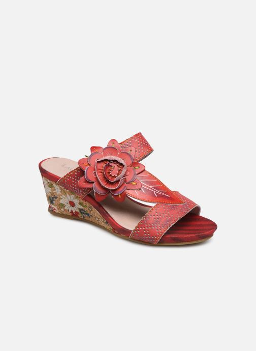 Mules & clogs Laura Vita Becnoito 21 Red detailed view/ Pair view