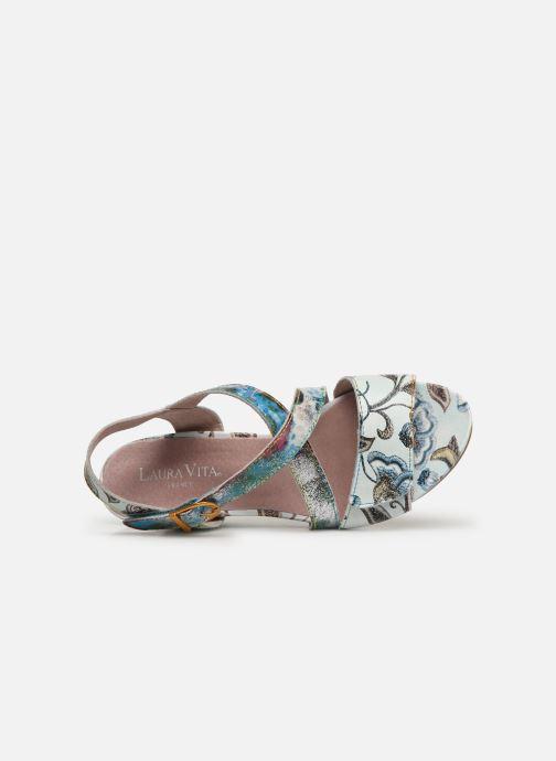 Sandales et nu-pieds Laura Vita Becnoito 60 Bleu vue gauche