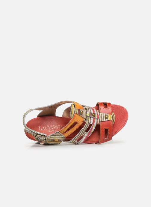 Sandali e scarpe aperte Laura Vita Benoit 27 Rosso immagine sinistra
