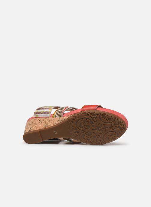 Sandales et nu-pieds Laura Vita Benoit 27 Multicolore vue haut