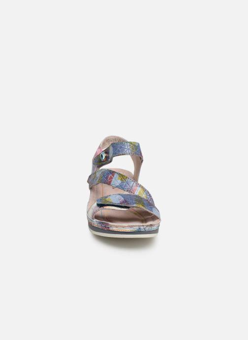 Sandales et nu-pieds Laura Vita Brcuelo 43 Bleu vue portées chaussures