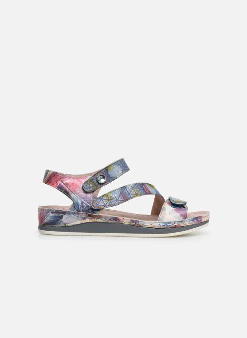 Sandales et nu-pieds Laura Vita Brcuelo 43 Bleu vue derrière