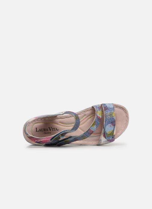 Sandales et nu-pieds Laura Vita Brcuelo 43 Bleu vue gauche