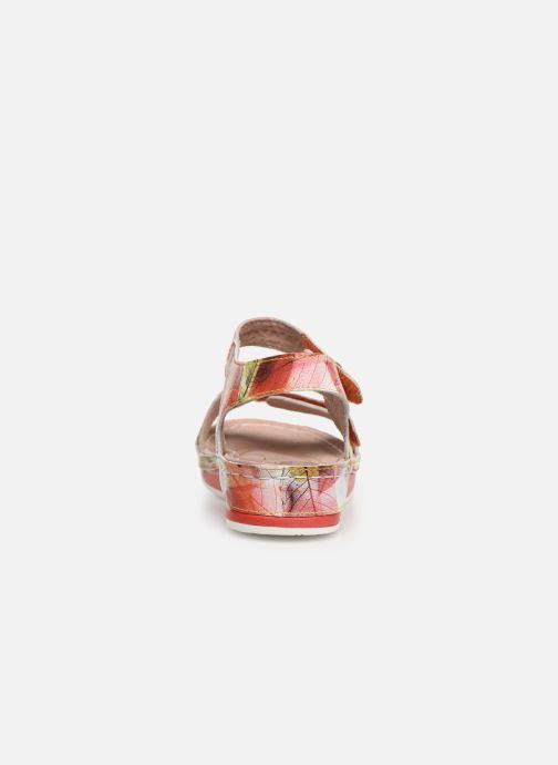 Sandales et nu-pieds Laura Vita Brcuelo 43 Orange vue droite