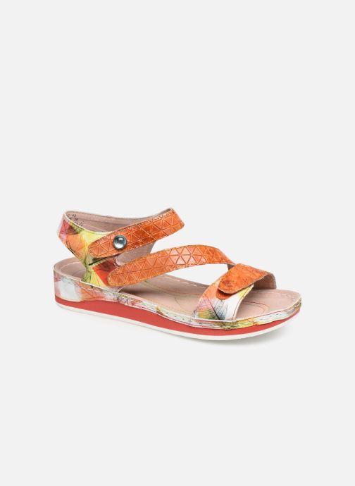 Sandales et nu-pieds Laura Vita Brcuelo 43 Orange vue détail/paire