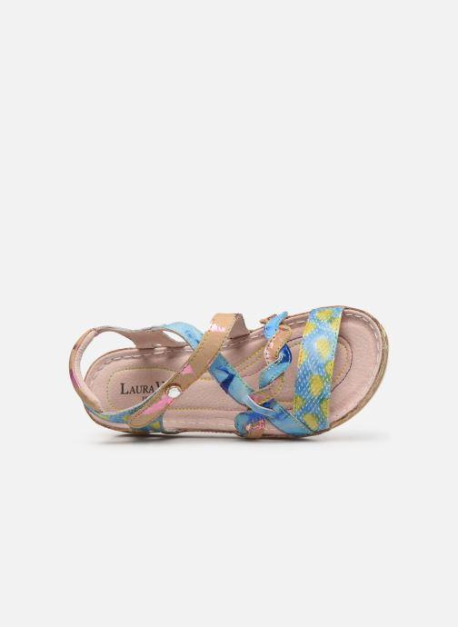 Sandales et nu-pieds Laura Vita Brcuelo 55 Bleu vue gauche