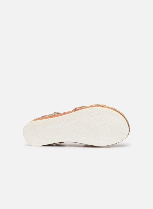 Sandales et nu-pieds Laura Vita Brcuelo 55 Bleu vue haut