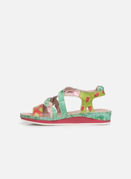 Sandales et nu-pieds Laura Vita Brcuelo 55 Vert vue face