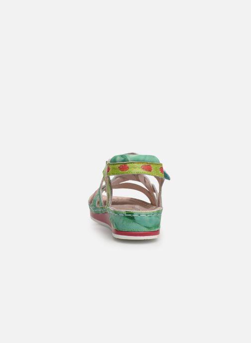 Sandales et nu-pieds Laura Vita Brcuelo 55 Vert vue droite