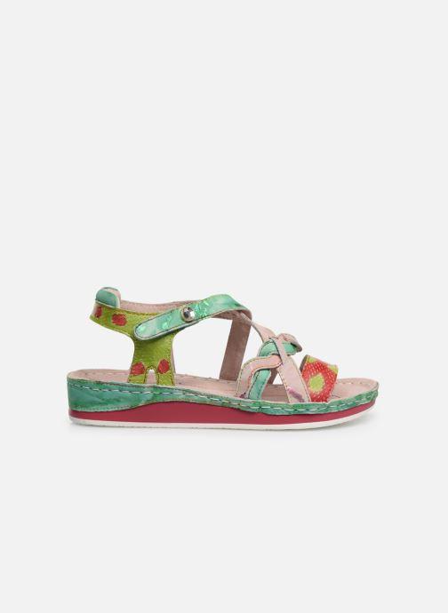 Sandales et nu-pieds Laura Vita Brcuelo 55 Vert vue derrière