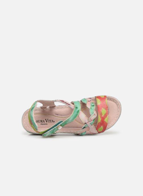 Sandales et nu-pieds Laura Vita Brcuelo 55 Vert vue gauche