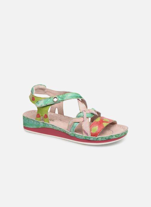 Sandales et nu-pieds Laura Vita Brcuelo 55 Vert vue détail/paire