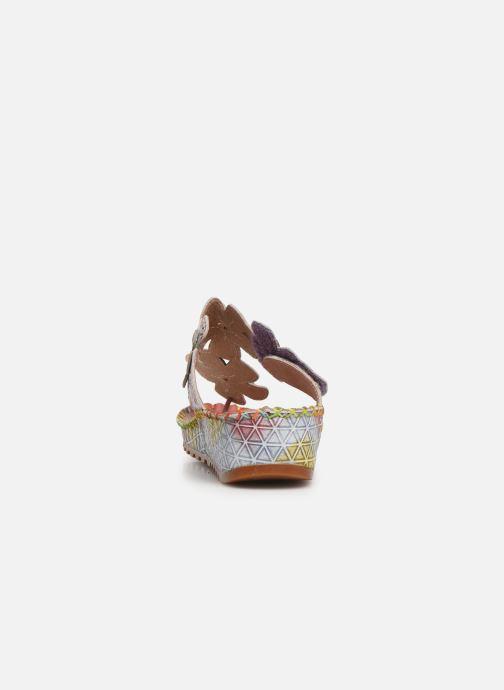 Sandali e scarpe aperte Laura Vita Brcyano 03 Rosa immagine destra