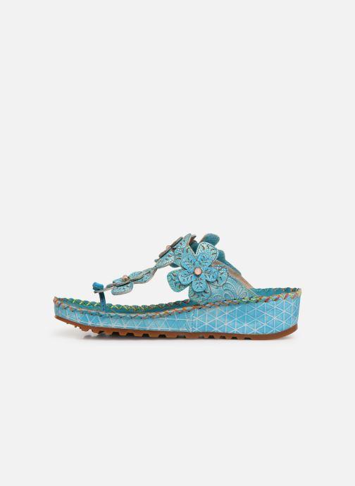 Sandales et nu-pieds Laura Vita Brcyano 03 Bleu vue face