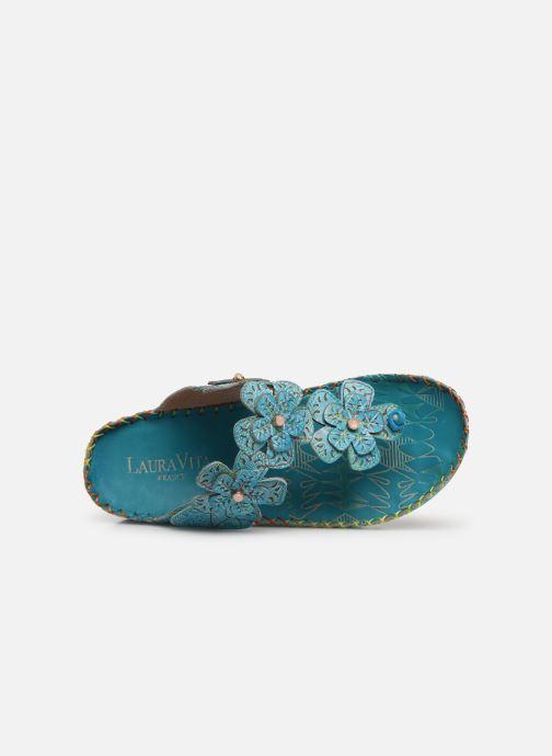 Sandales et nu-pieds Laura Vita Brcyano 03 Bleu vue gauche