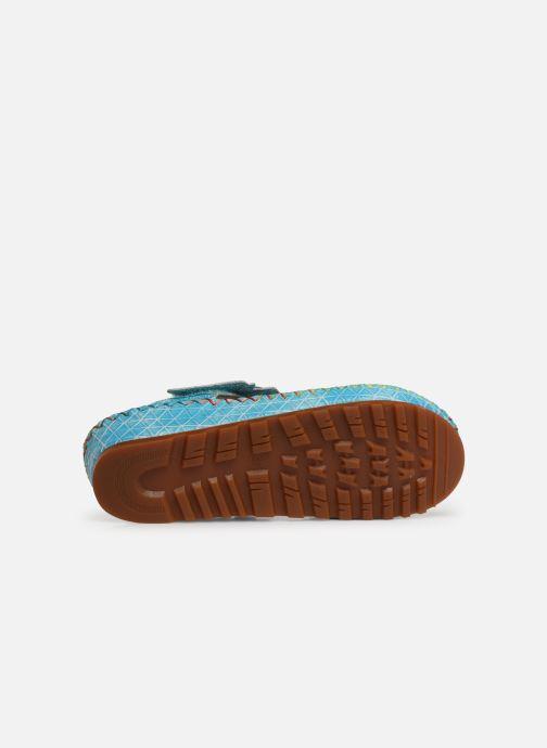 Sandales et nu-pieds Laura Vita Brcyano 03 Bleu vue haut
