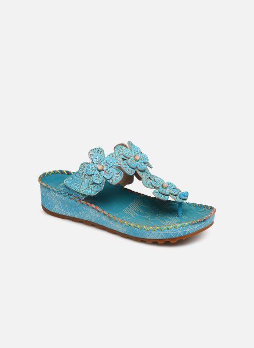 Sandales et nu-pieds Laura Vita Brcyano 03 Bleu vue détail/paire
