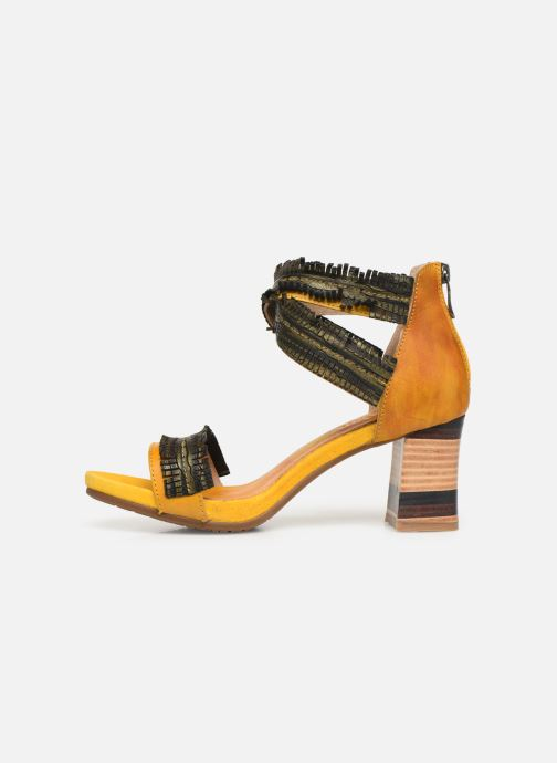 Sandales et nu-pieds Laura Vita Celeste 05 Jaune vue face
