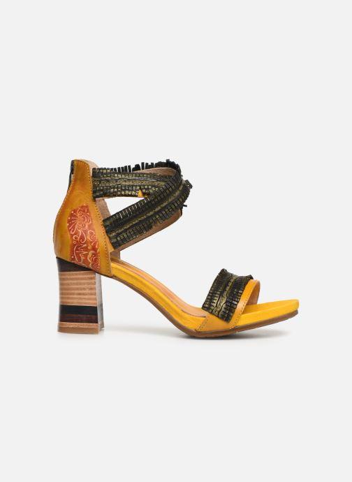 Sandales et nu-pieds Laura Vita Celeste 05 Jaune vue derrière