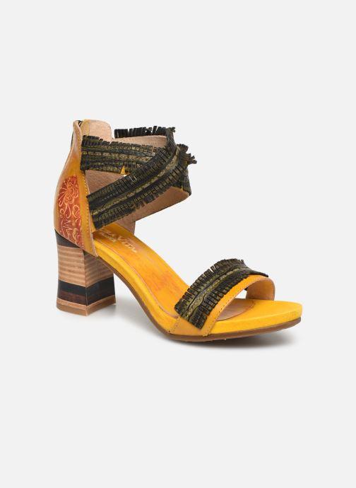 Sandales et nu-pieds Laura Vita Celeste 05 Jaune vue détail/paire