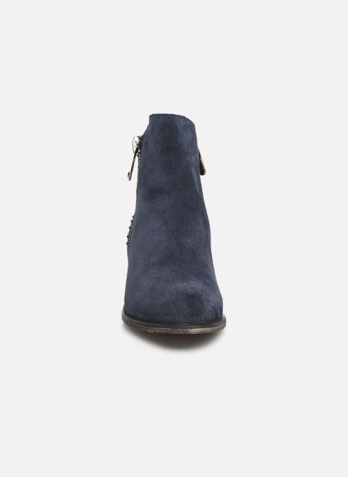 Bottines et boots Laura Vita Clemence 07 Bleu vue portées chaussures