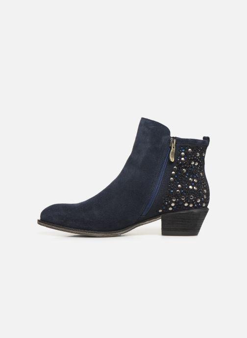 Bottines et boots Laura Vita Clemence 07 Bleu vue face